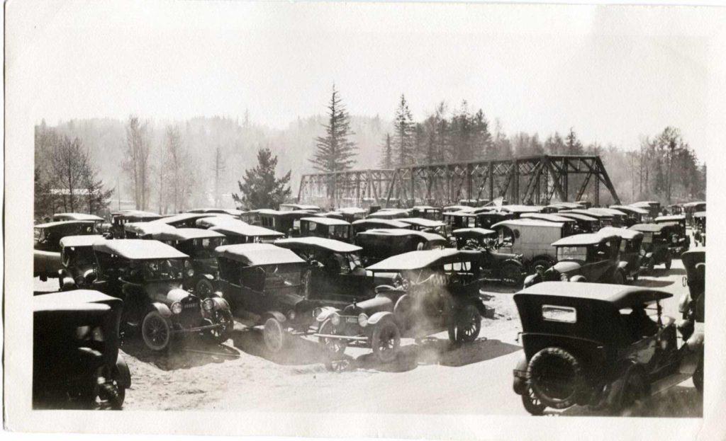 Troutdale Bridge Circa 1920