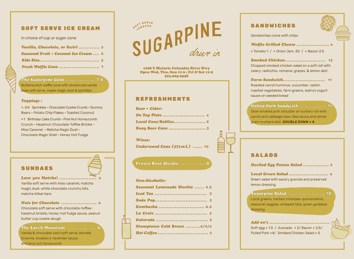 Sugarpine Menu 8-21-18