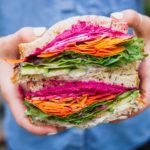 Two Taste the Rainbow Sandwiches