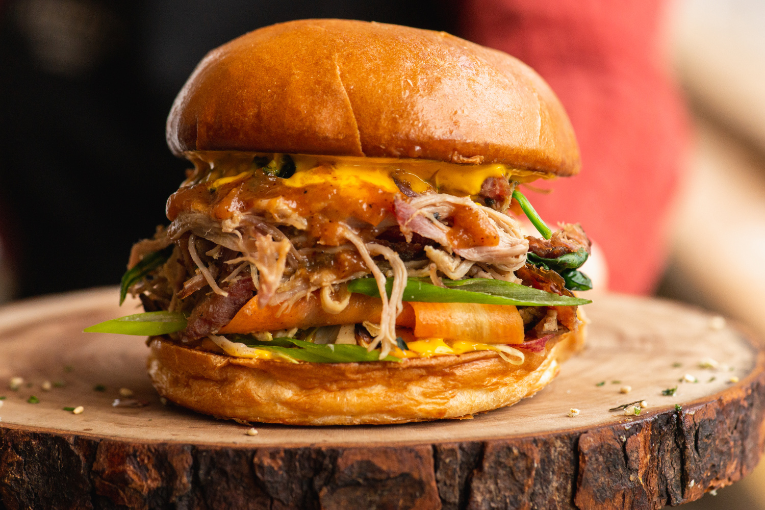 Kalua Pulled Pork Sandwich